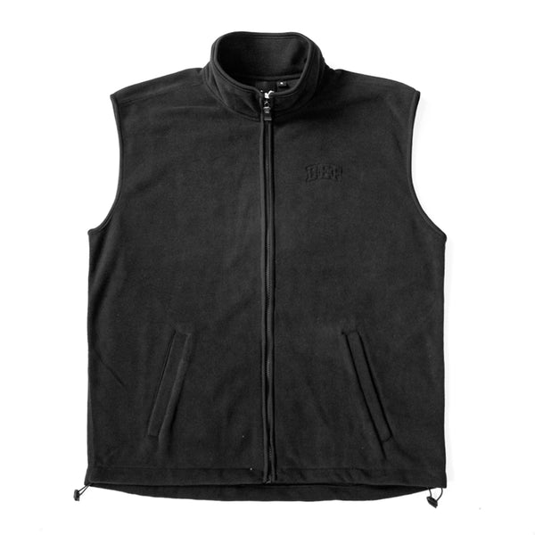 Def Super Polar Fleece Vest Tee - Black