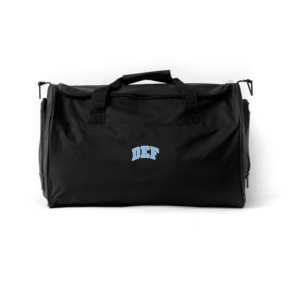 Def Super Sports Bag - Black