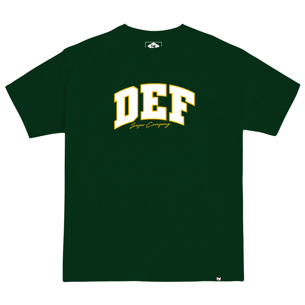 Def Super Tee - Forest Green