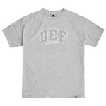 Def Super Tee - Heather Grey
