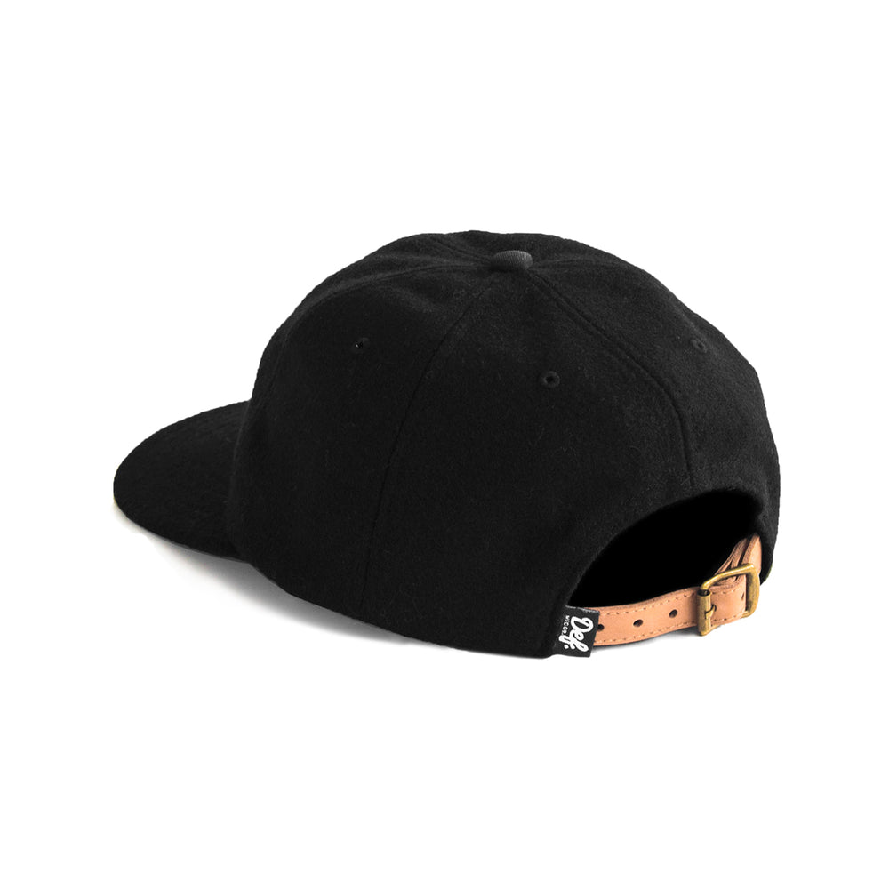 Load image into Gallery viewer, Def Super Wool Baseball Cap - Black