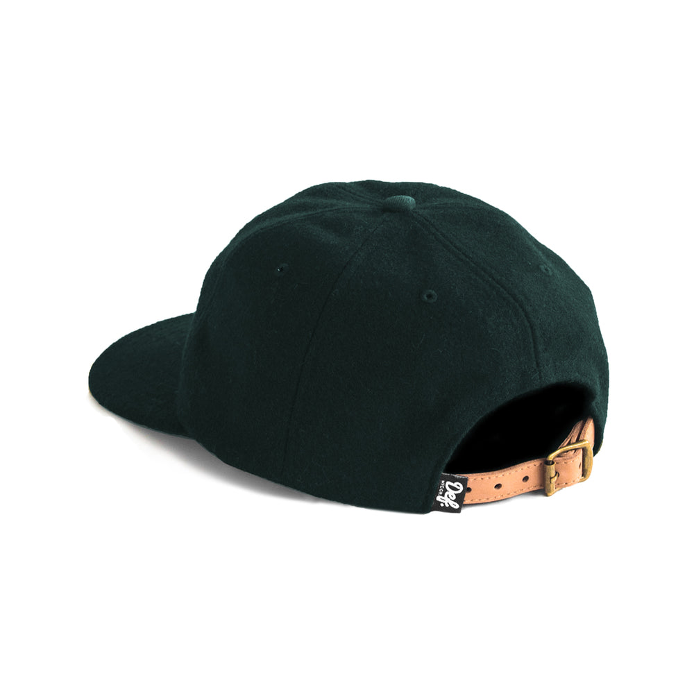 Load image into Gallery viewer, Def Super Wool Baseball Cap - Bottle Green