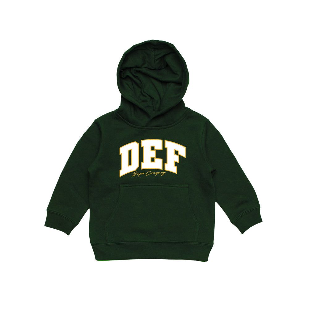Def Super YOUTH Hood - Forest Green