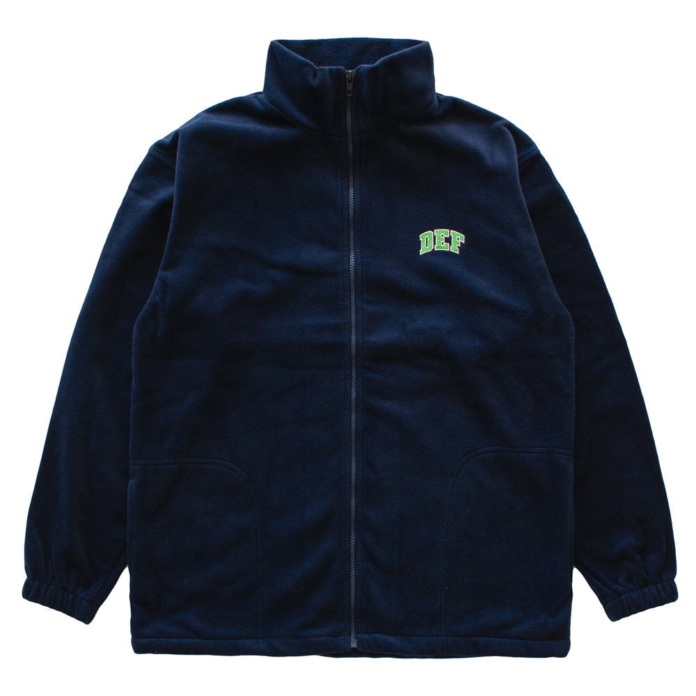 Def Super Zip Polarfleece - Navy