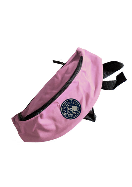Def Survival Waist Bag - Pink