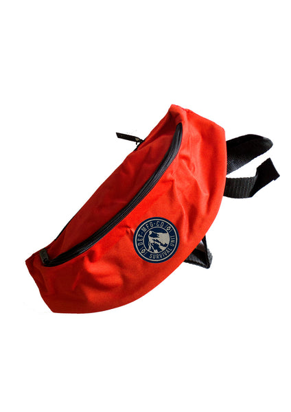Def Survival Waist Bag - Red