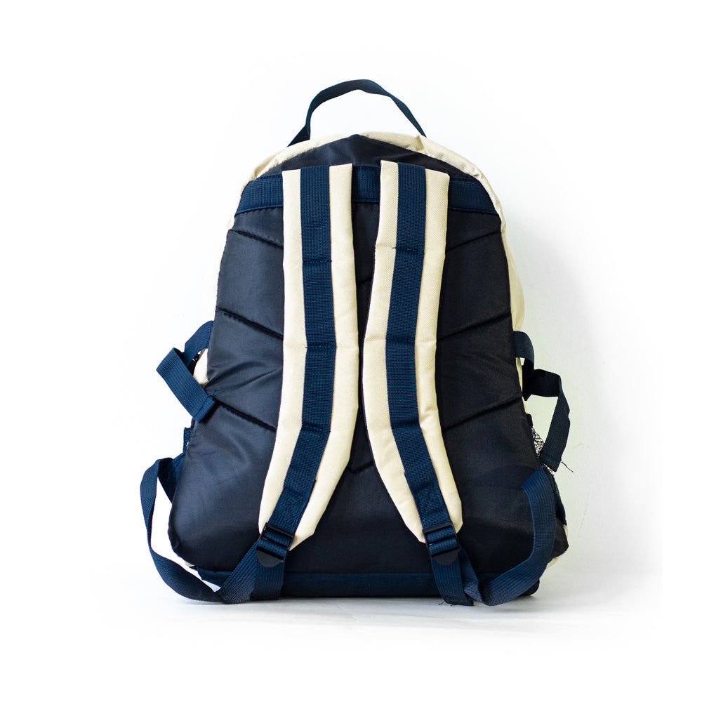Def Tablet Backpack - Navy/Cream