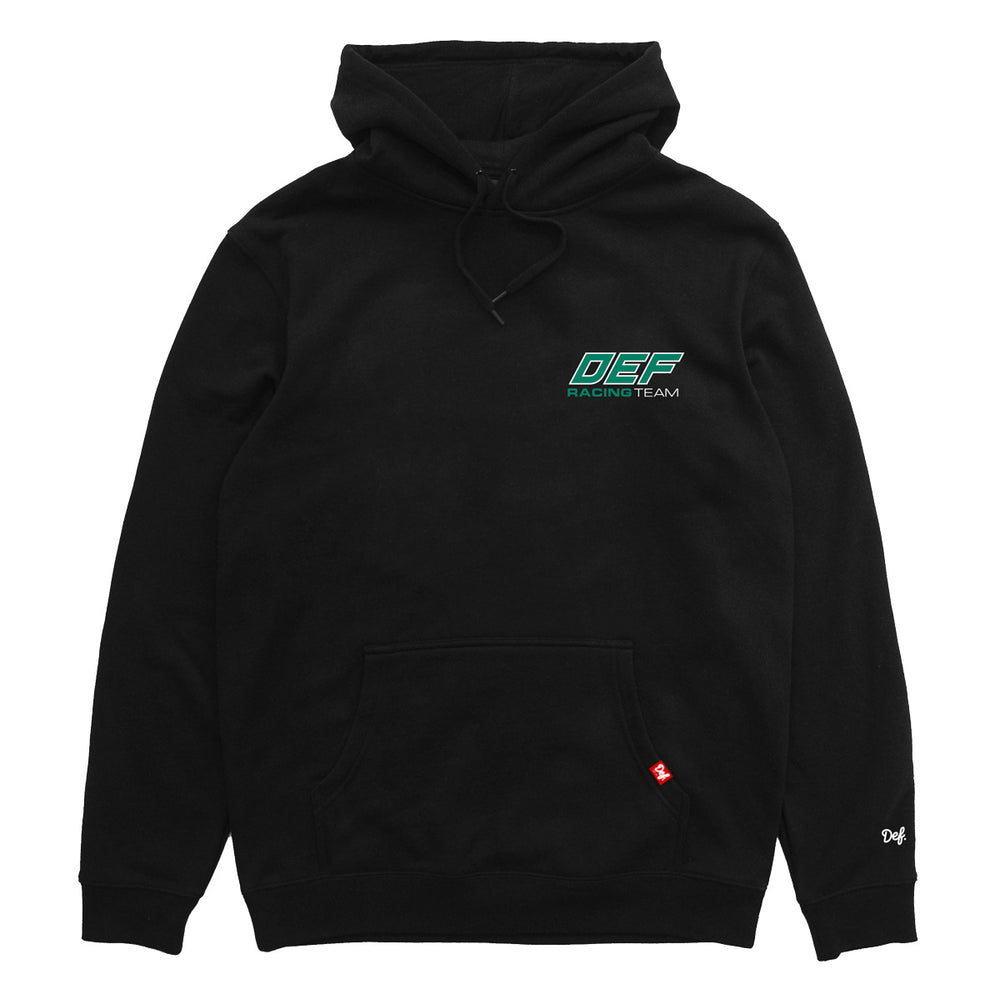 Load image into Gallery viewer, Def Team Racing Hood Hood - Black (Mid-Weight)