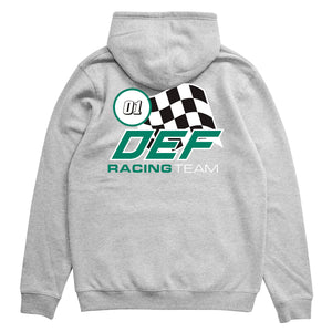 Load image into Gallery viewer, Def Team Racing Hood Hood - Heather (Mid-Weight)