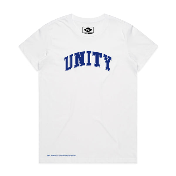 UNITY ARCH Womens Tee - White (DONATION) (D3)