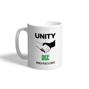 Def We Unite Mug - White
