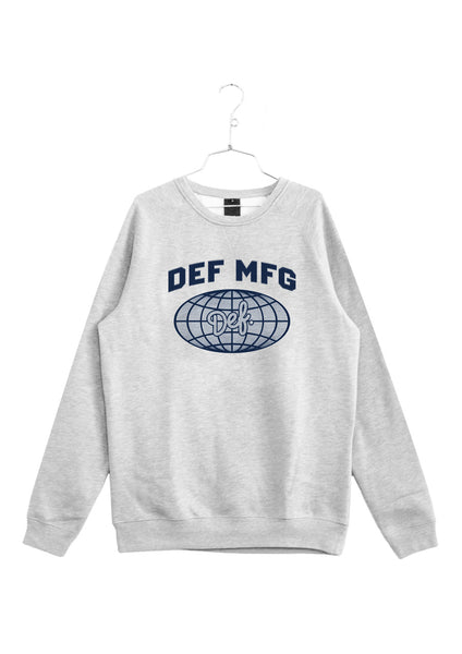 Def World Crew - Heather Grey (W4)