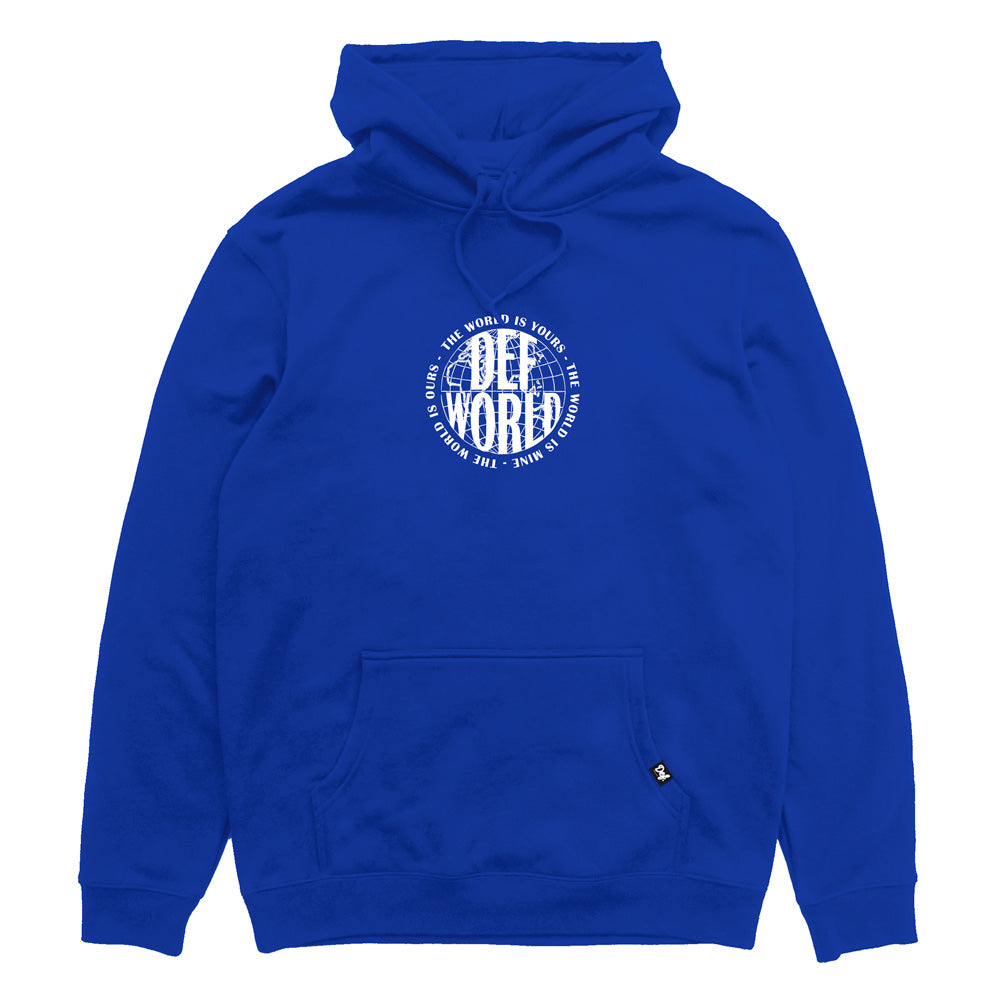 Def World Is Yours Hood - Royal Blue (Mid-Weight) (W3)