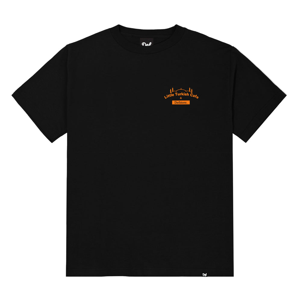 Load image into Gallery viewer, K'Road x Little Turkish Cafe Tee - Black