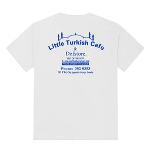 K'Road x Little Turkish Cafe Tee - White