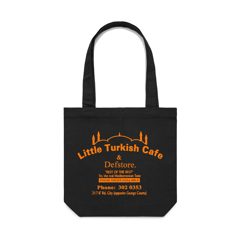 Def Store x Little Turkish Cafe Tote Bag - Black