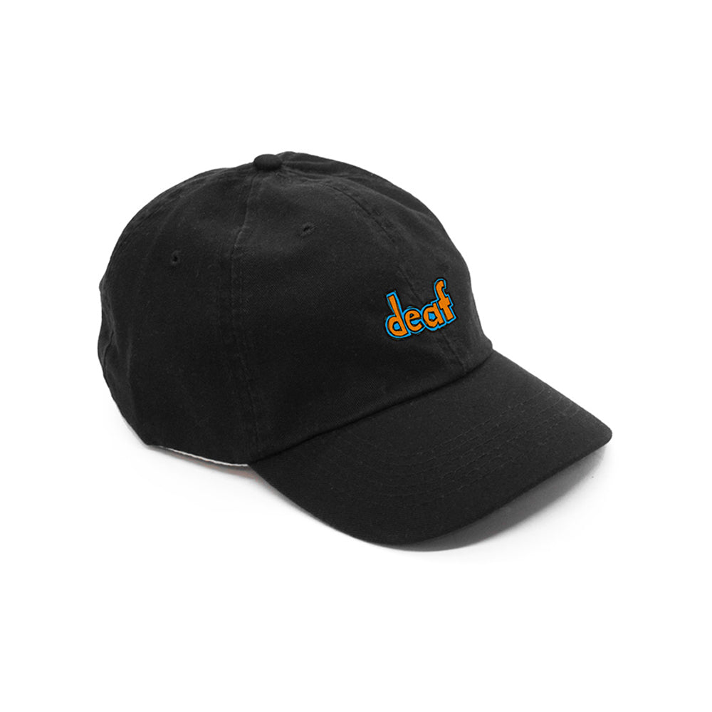 Def x Smiddy Deaf Cap  - Black