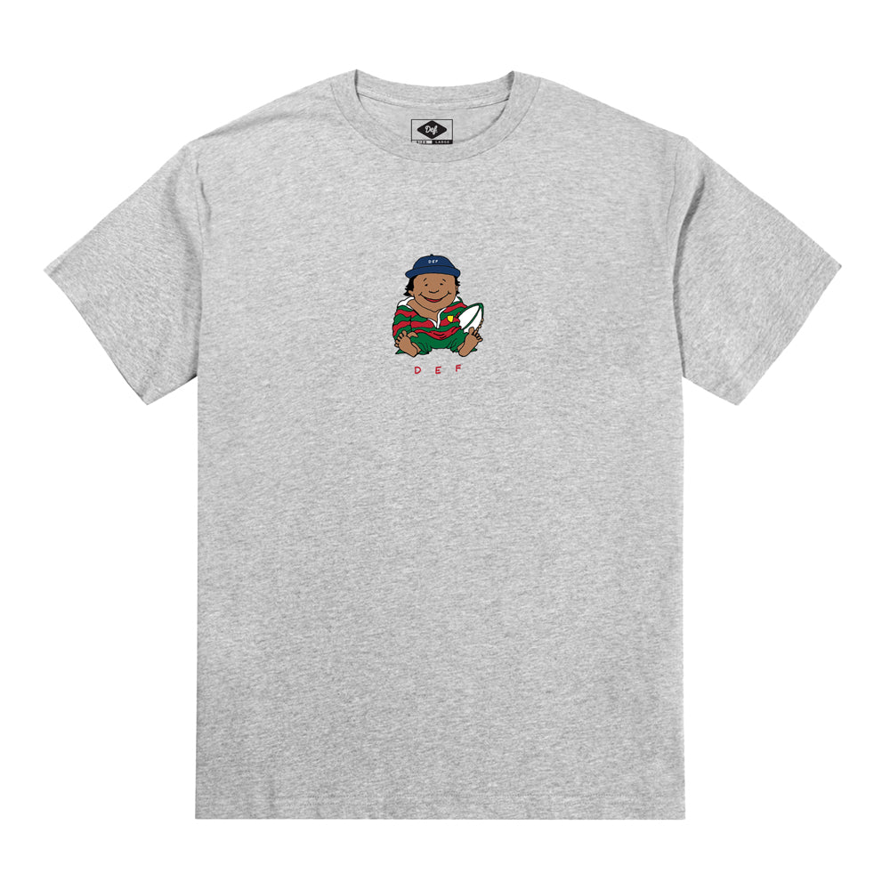 Def x Smiddy Midget Boon Tee - Heather