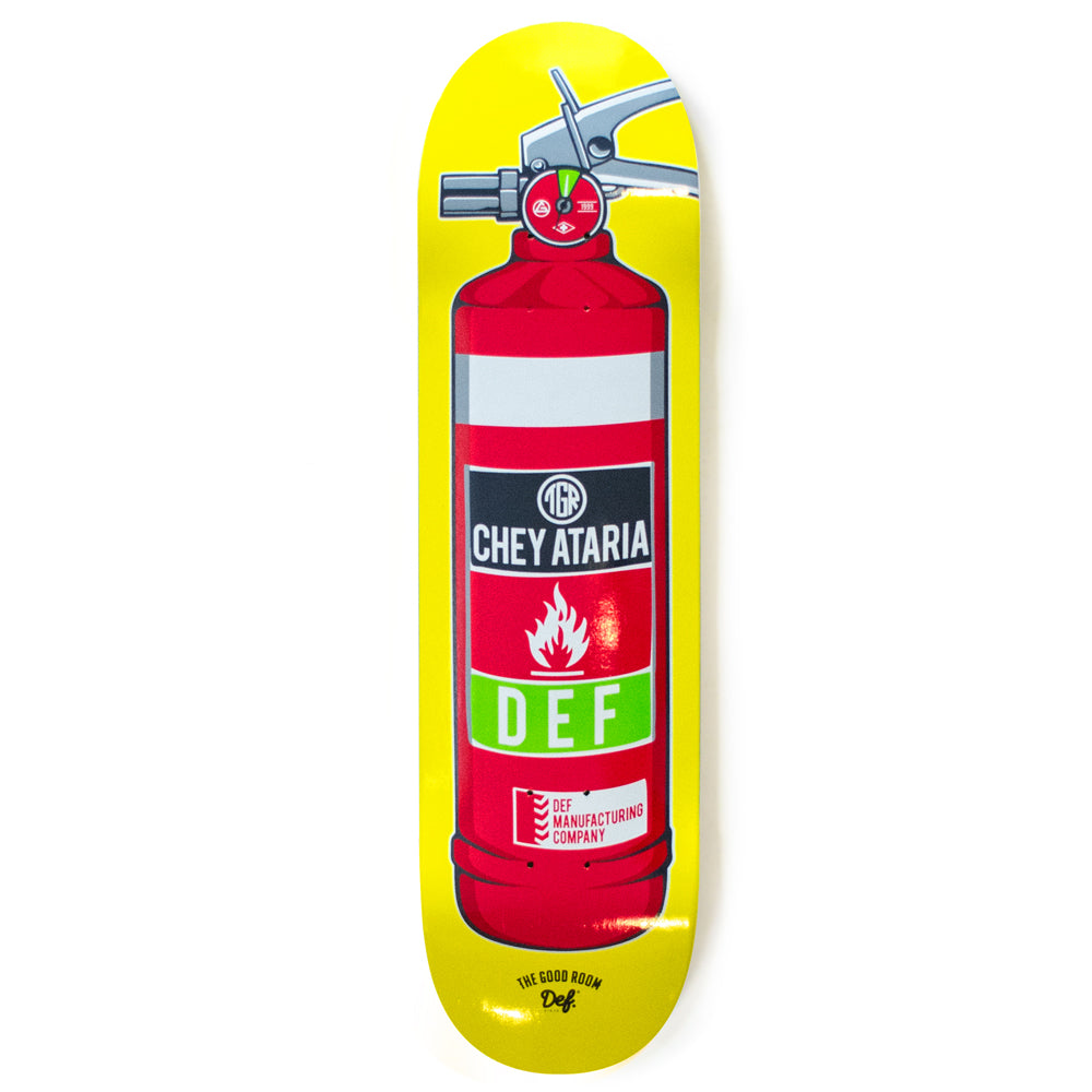 Def x TGR Ataria Fire Extinguisher Pro Deck - 3 Sizes