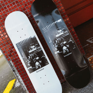 Load image into Gallery viewer, K'Road x Tim D Vegas Deep Skateboard Deck - Black