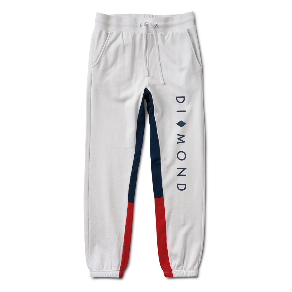 Diamond Fordham Sweatpants - White