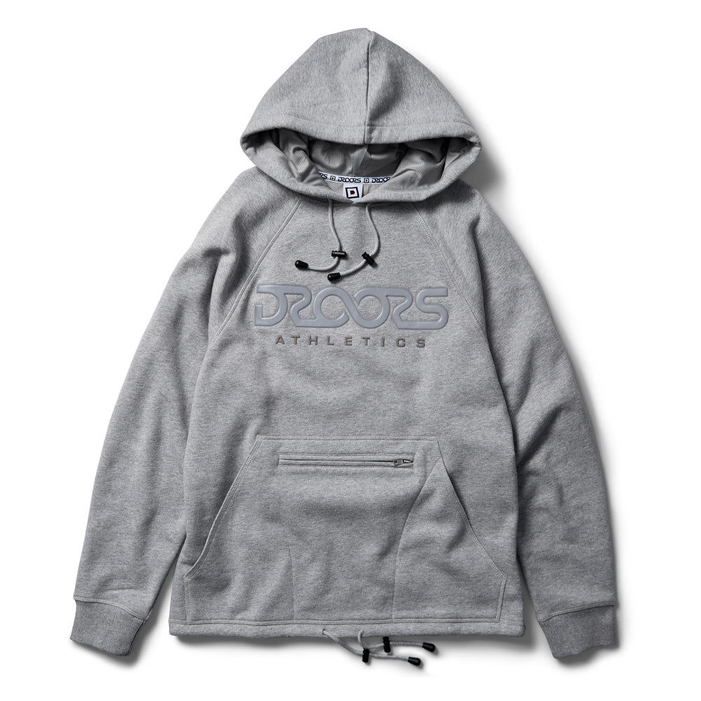 Droors Regulus Hood - Heather Grey