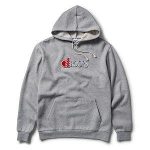 Droors ST Droors Hood - Heather Grey