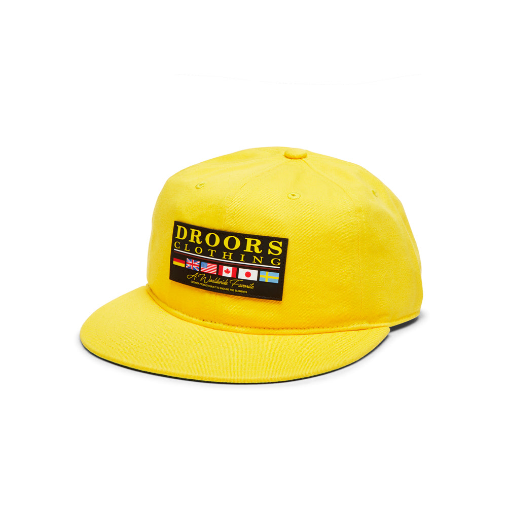 Droors Favourite 6-Panel Cap - Dandelion Yellow