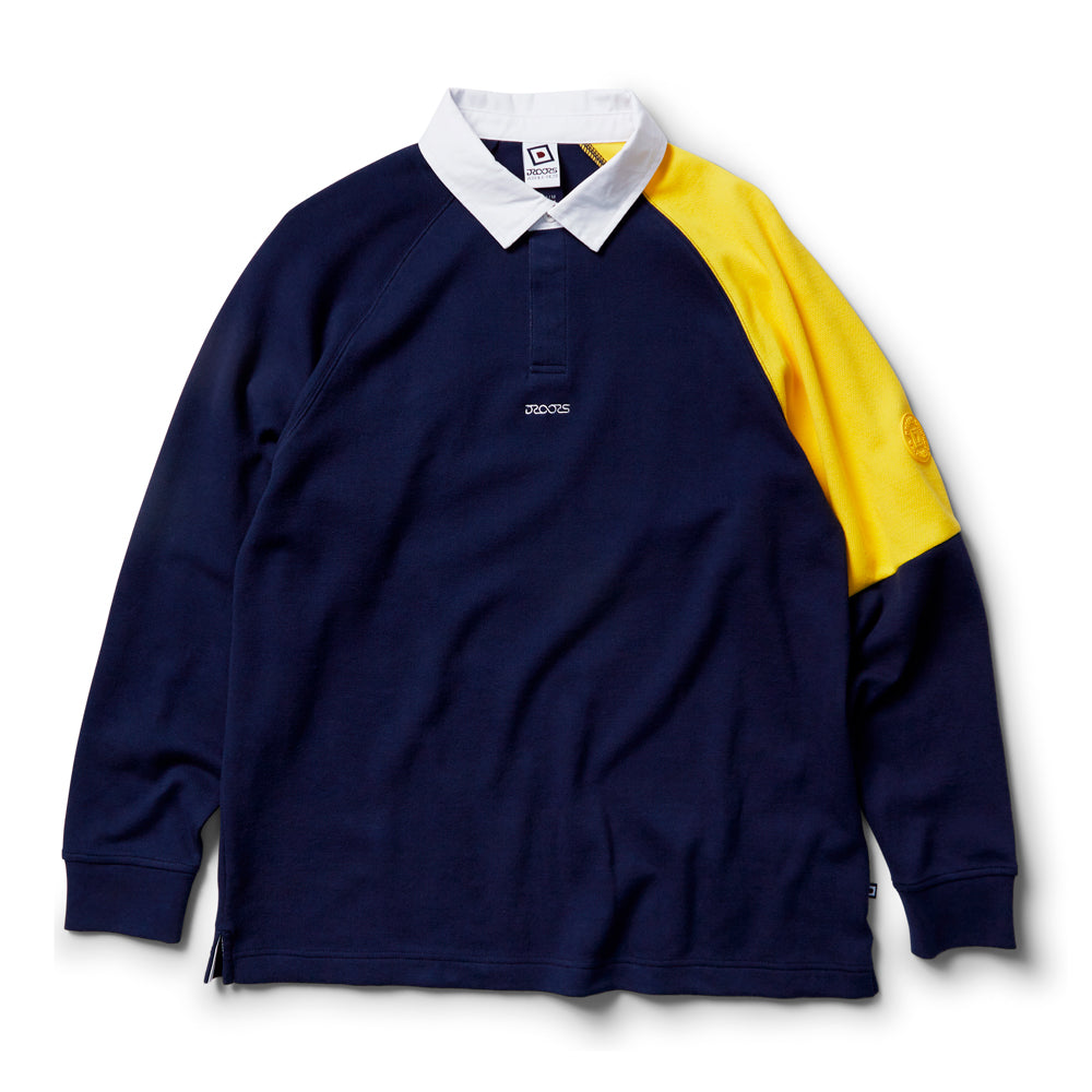 Droors Saxon Rugby Jersey - Peacoat Navy