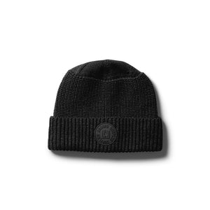 Droors Tonal Patch Beanie - Jet Black