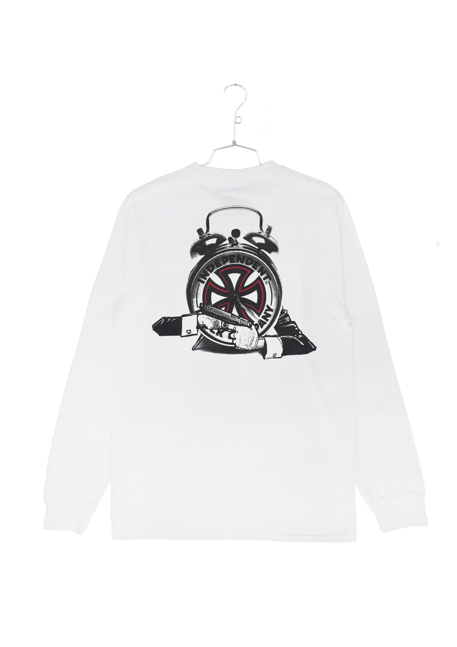 FA x Indy Hostage Longlseeve Tee - White (B)