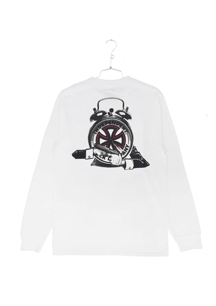 FA x Indy Hostage Longlseeve Tee - White (D1)