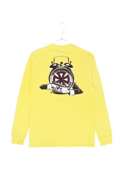 FA x Indy Hostage Longlseeve Tee - Yellow (D1)