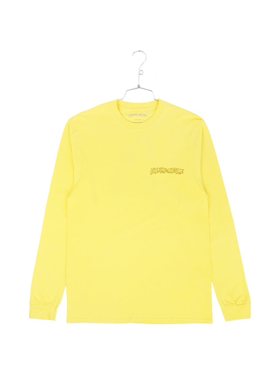 FA x Indy Hostage Longlseeve Tee - Yellow (B)