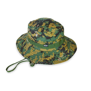 Grill Army Fatigue Ripstop Bucket - Digi Camo