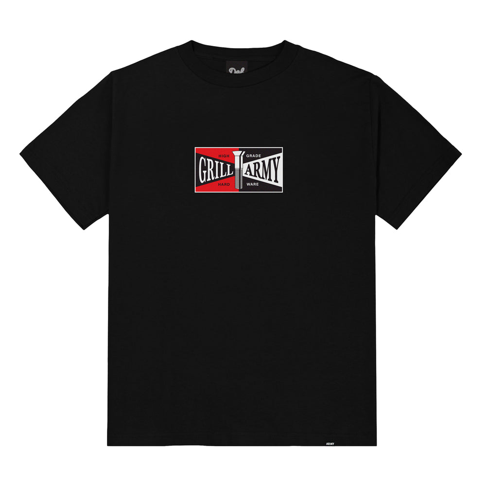Grill Army High Grade Tee - Black