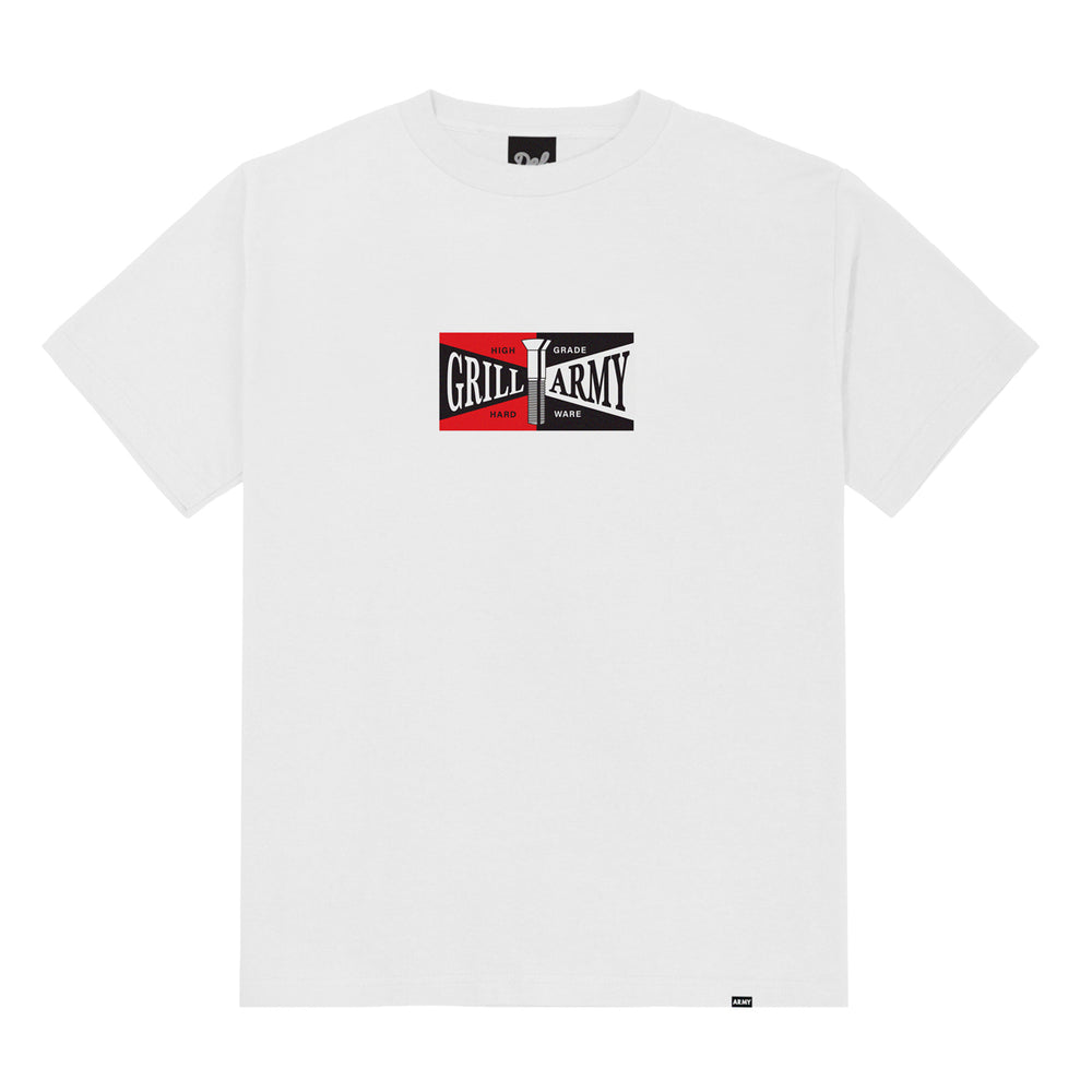 Grill Army High Grade Tee - White