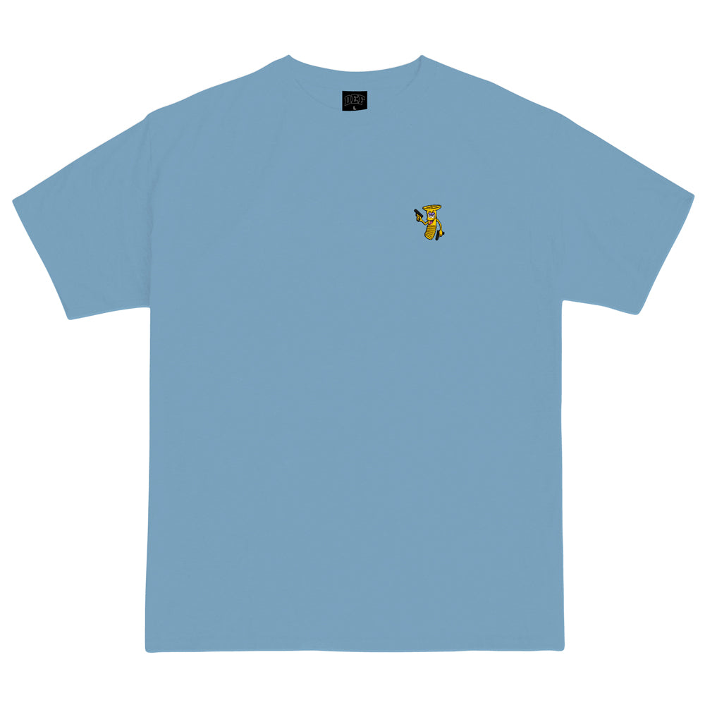Grill Army Nutjob Embroidery Tee - Light Blue