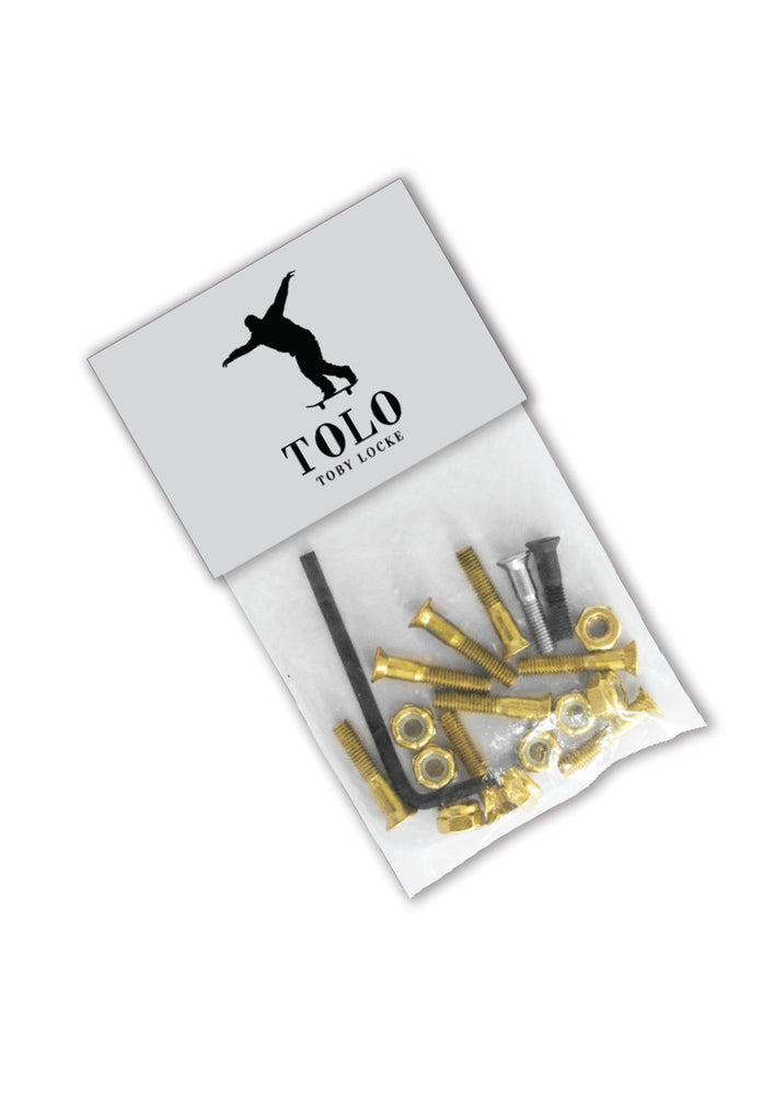 Grill Army Tolo Hardware - All Gold / 1 Silver / 1 Black