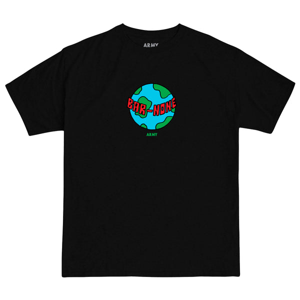 Grill Army x Barnone Earth Tee - Black