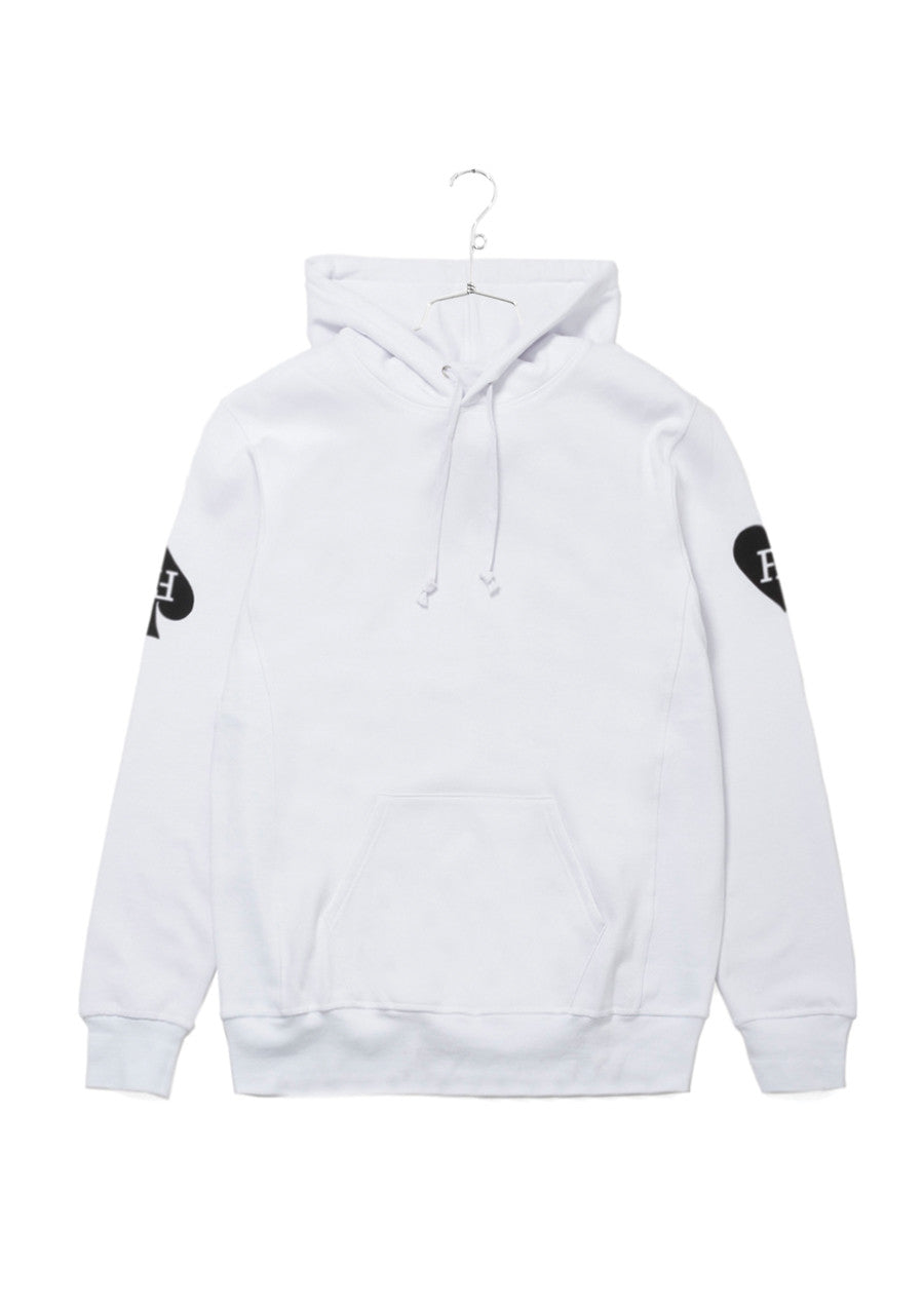Fucking Awesome Hearts Hood - White (B2)