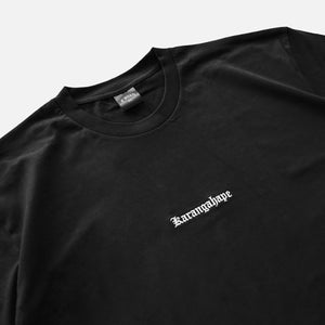 Load image into Gallery viewer, K'ROAD Heritage Embroidery Tee - Black