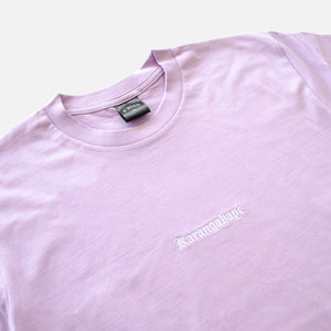Load image into Gallery viewer, K'ROAD Heritage Embroidery Tee - Lavender