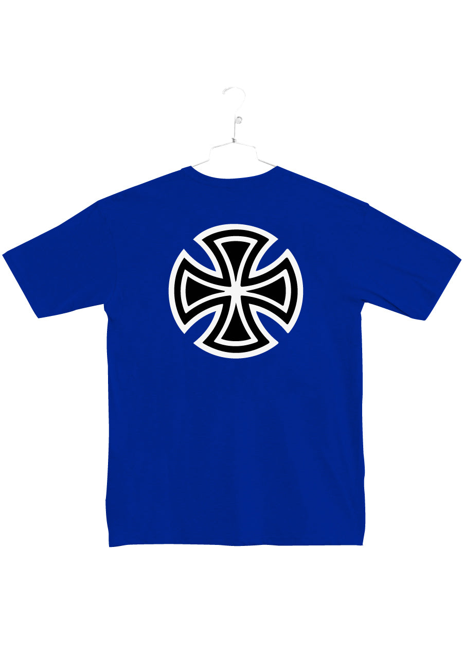 Independent Trucks Co. Bar Cross Tee - Royale (C2)