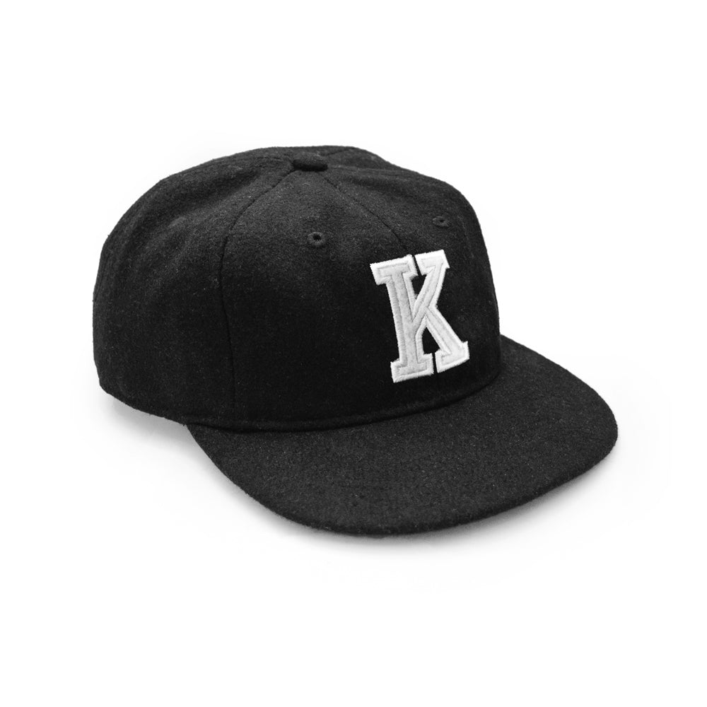 K'ROAD Kaye Wool Cap - Black