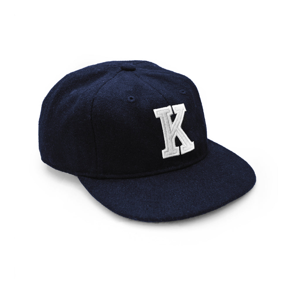 K'ROAD Kaye Wool Cap - Navy