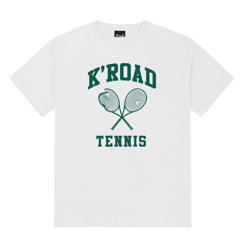 K'Road Tennis Tee - White