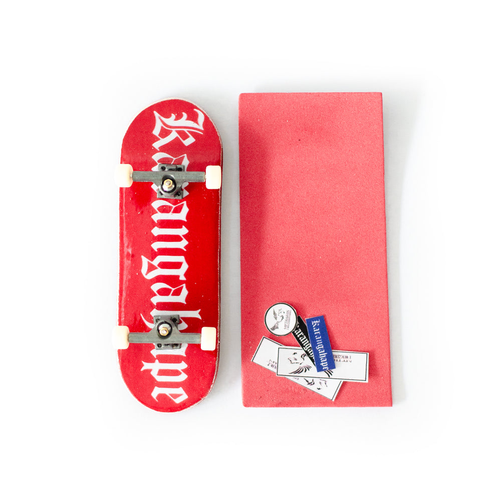 Load image into Gallery viewer, Karangahape Heritage Fingerboard - Red