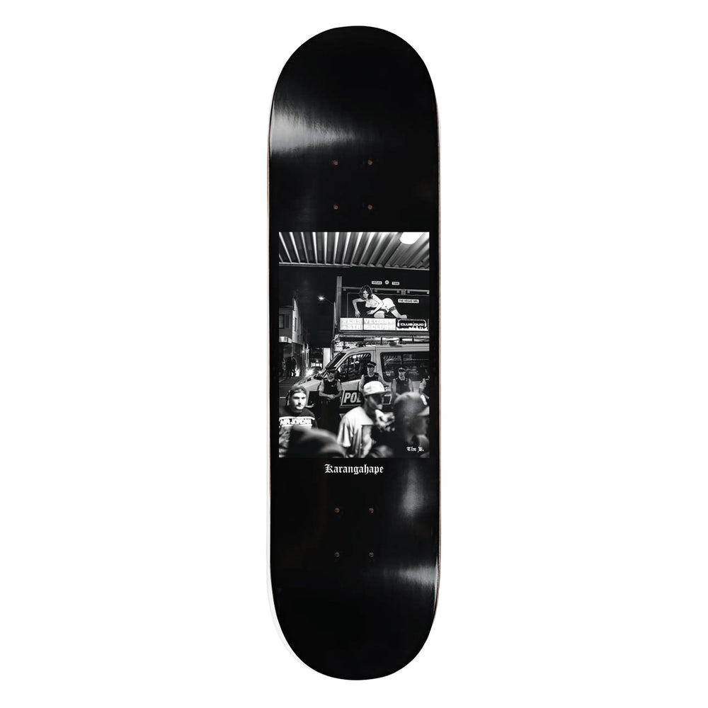 K'Road x Tim D Vegas Deep Skateboard Deck - Black