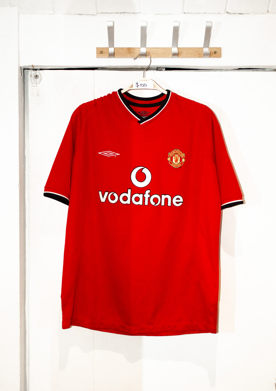 Umbro Manchester United 2000-01 Football Home Shirt - Large